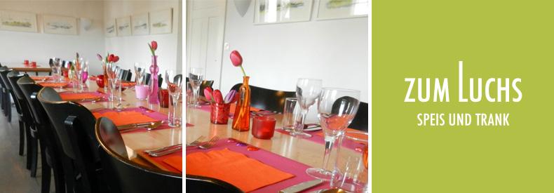 Der Lange Tisch Restaurant Zum Luchs