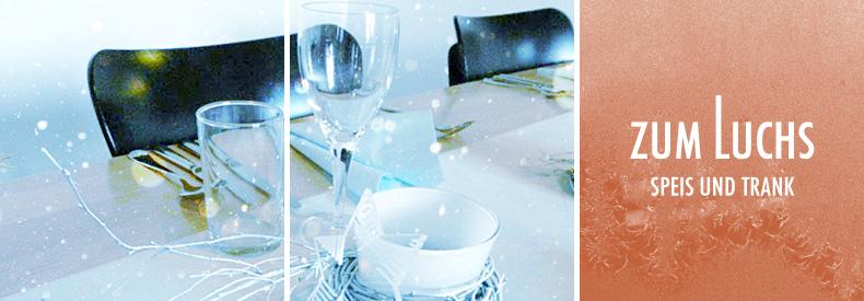 Tischdekoration Zum Luchs